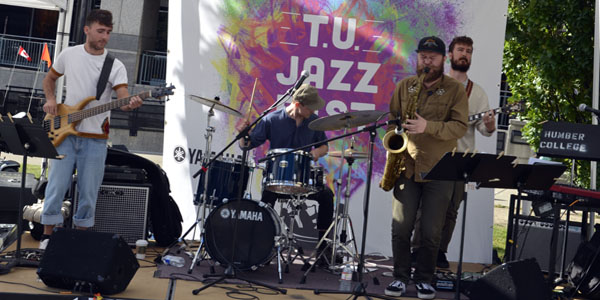 Lawful Citizen Band at The T.U. Jazz Festival 2017