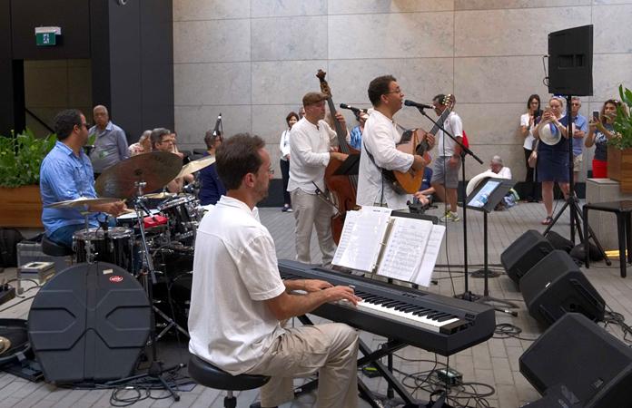 Luis Mario Ochoa Band - TD Toronto Jazz Festival 2018
