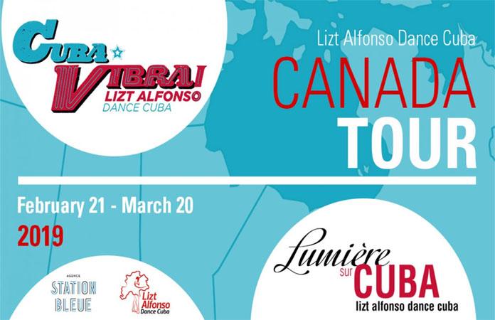 Lizt Alfonso Dance Cuba Canada Tour