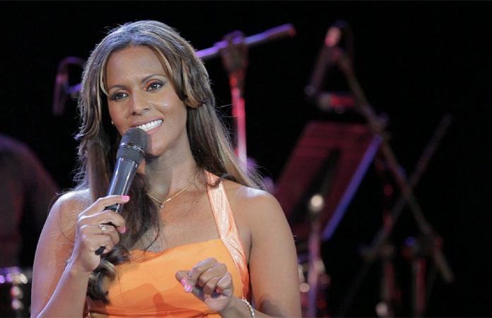 Yaima Saez in concert
