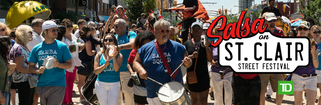 Salsa on St Clair Street Festival